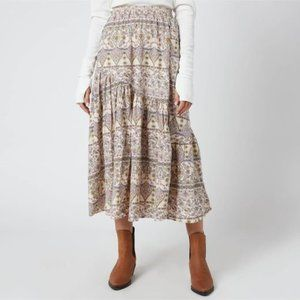NWT Free People Small Skirt NEW $128.00 A-Line Mid